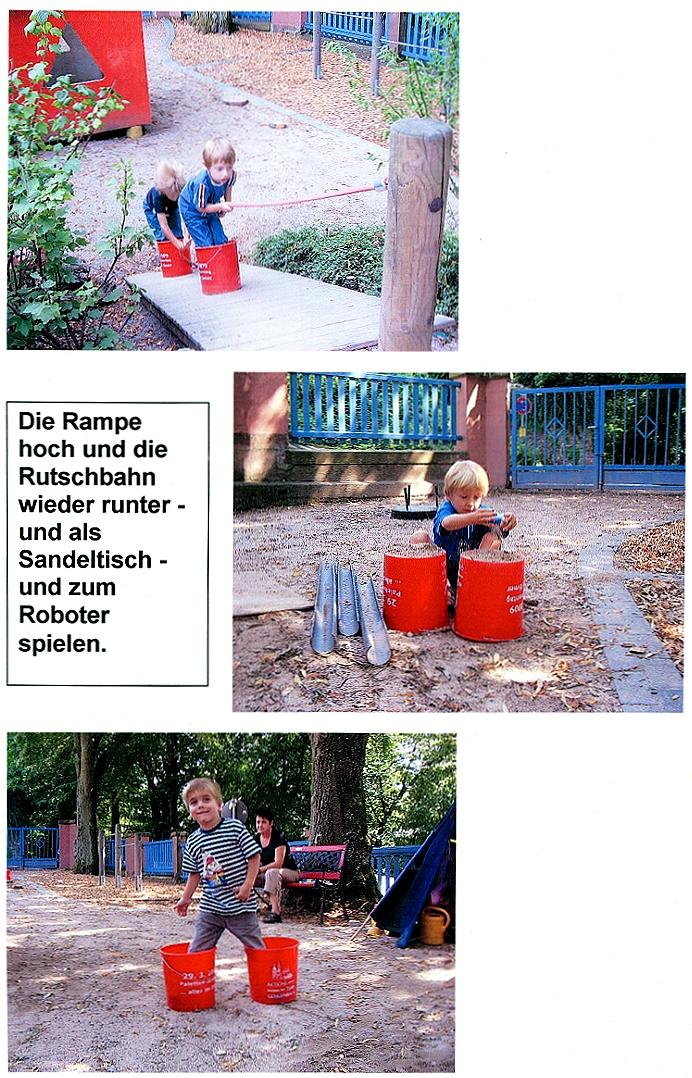 """Aktionsteam Gengenbach - Mitteilung und Bilder vom Kindergarten Schwedenstraße - Aktion """"Alles im Eimer"""""""