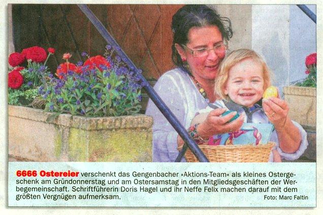 Aktionsteam Gengenbach - 6666 Ostereier