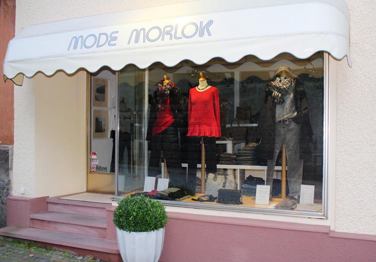 Aktionsteam Gengenbach - Mode-Morlok - Schaufenster