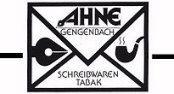 Aktionsteam Gengenbach - Firmen-Logos - Ahne Schreib- und Tabakwaren - Ahne Thomas und Daniela - Gengenbach