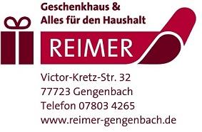 Aktionsteam Gengenbach - Firmen-Logos - Reimer Geschenkhaus - Ursula Reimer - Gengenbach