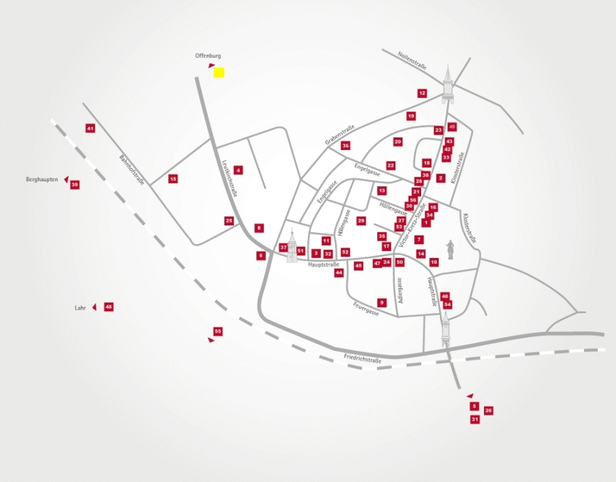 Aktionsteam Gengenbach - Stadtplan - Hitradio Ohr - Funkhaus Ortenau - Markus Knoll - Offenburg