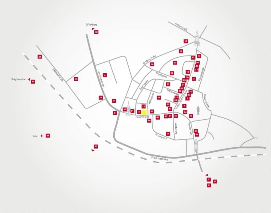 Aktionsteam Gengenbach - Stadtplan - Link Gengenbach GmbH - Peter Litterst - Gengenbach