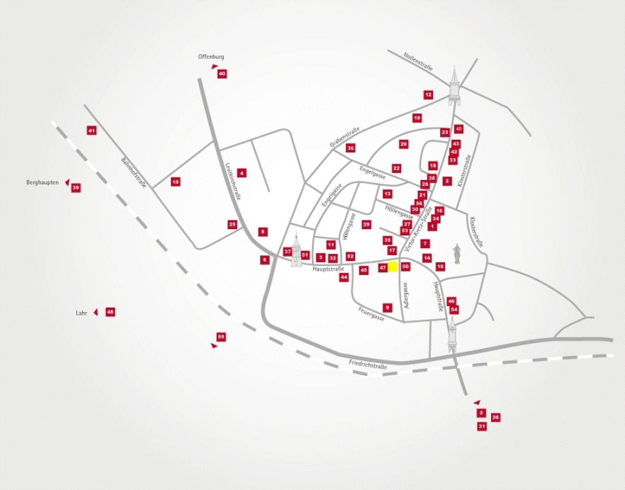 Aktionsteam Gengenbach - Stadtplan - Giesler Trend Store - Dirk Giesler
